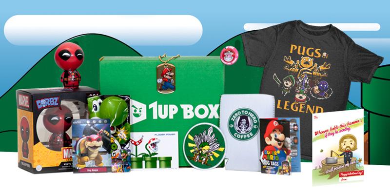1UP box - minulé boxy