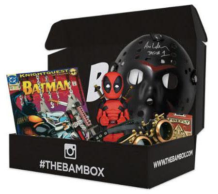 BAM box - items