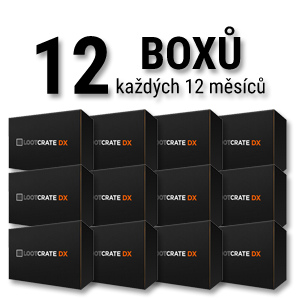 Loot Crate DX 12 měsíců
