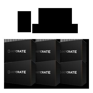 Loot Crate 6 měsíců