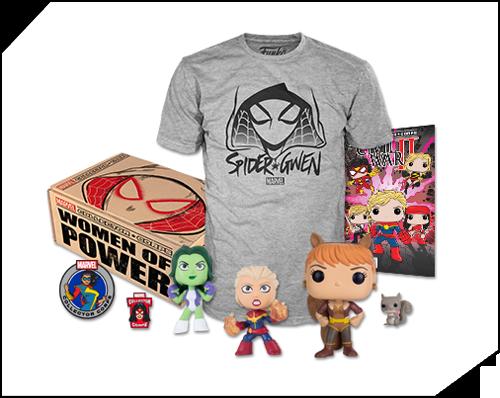 Marvel Collector Corps - minulé boxy